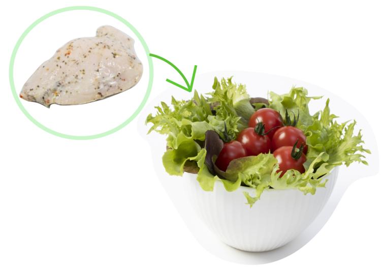 習慣その2★ 毎朝やせるサラダを食べる!