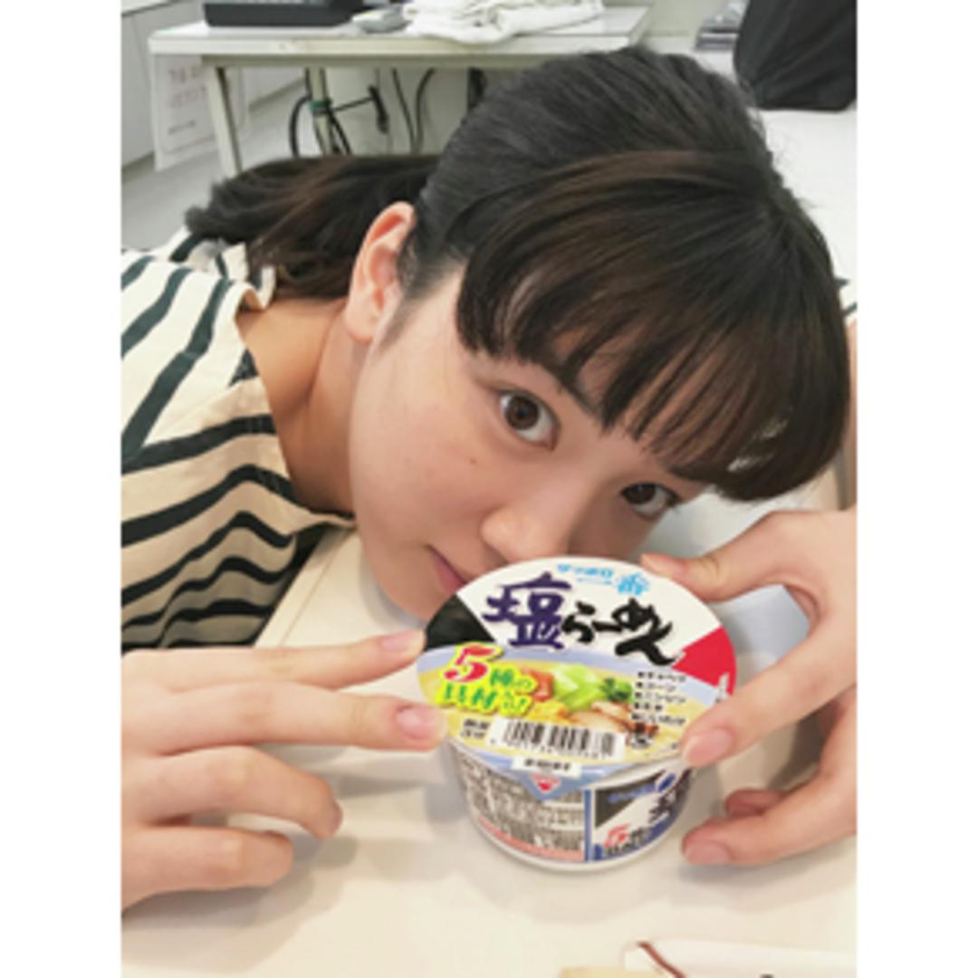 永野芽郁ちゃんは「塩ラーメン」