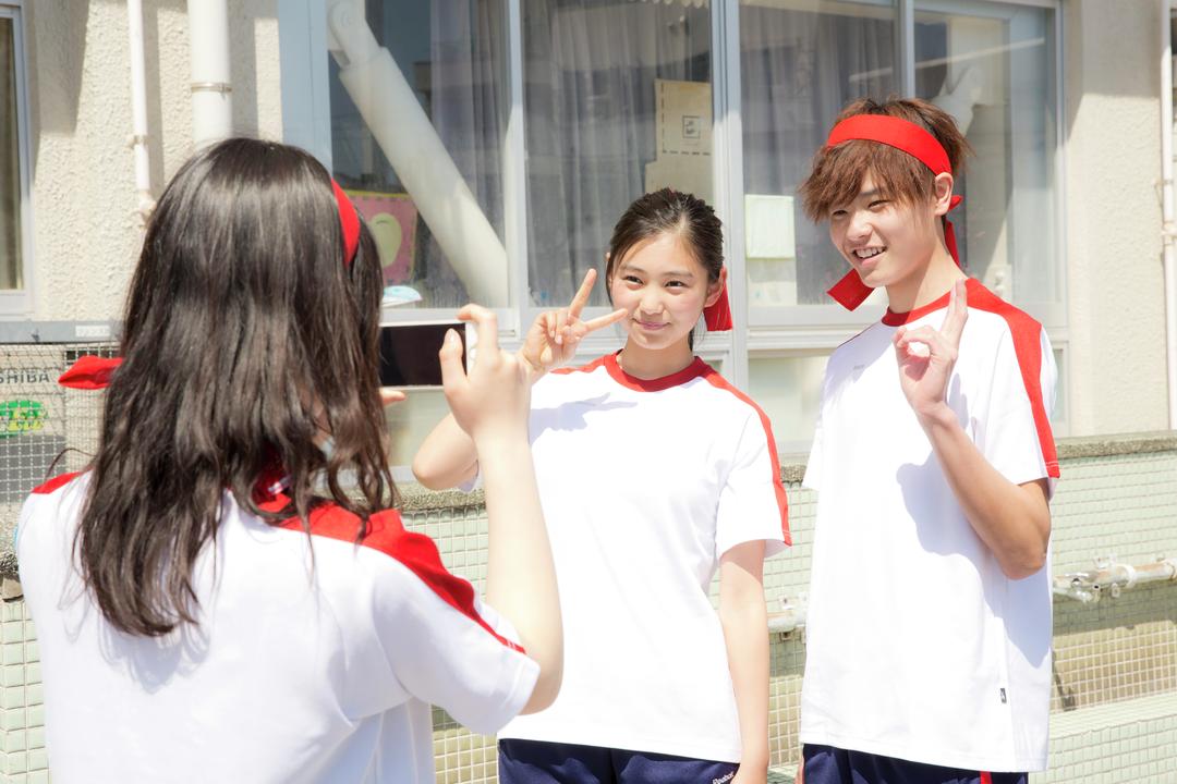 モテ♡→【写真を撮ってもらう】
