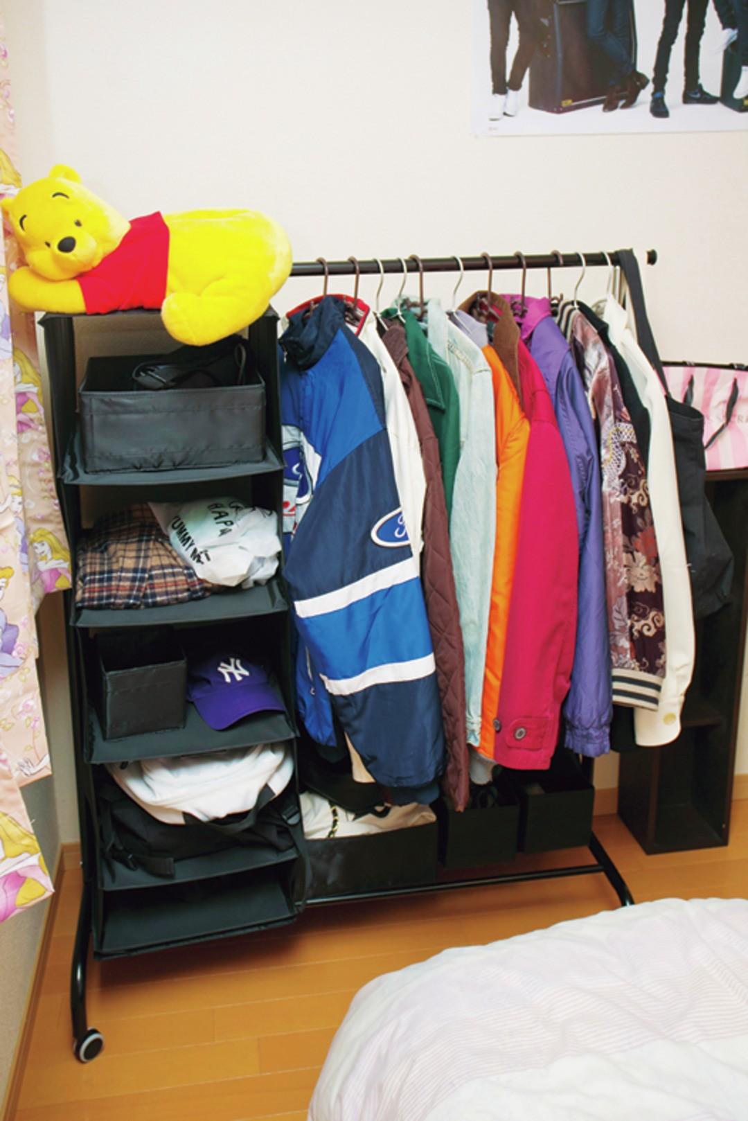 ♥『IKEA』のラックと収納ボックスでスッキリ収納!