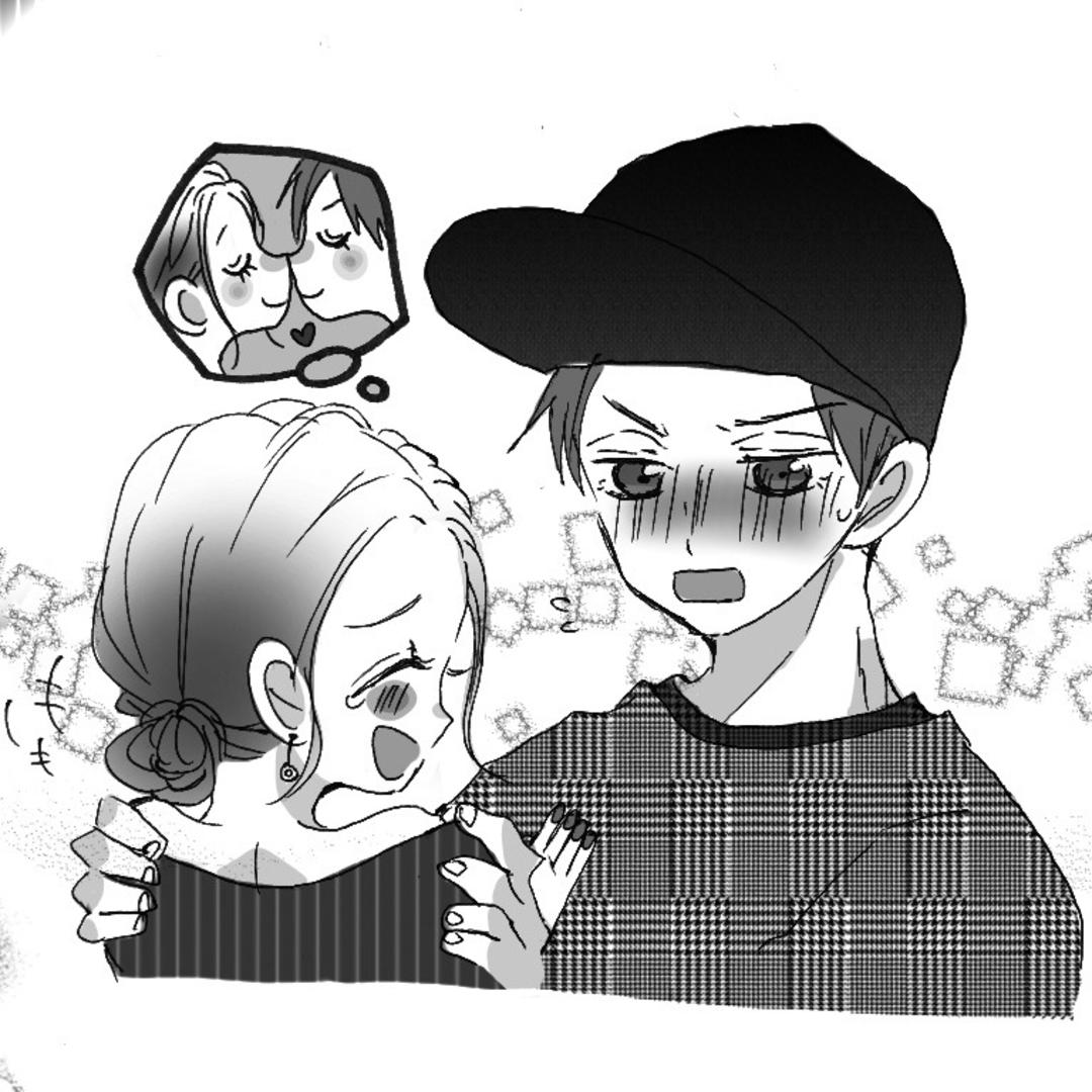 笑っちゃうけどめげないで! 年下彼氏とのキス♡(のあ・高3)