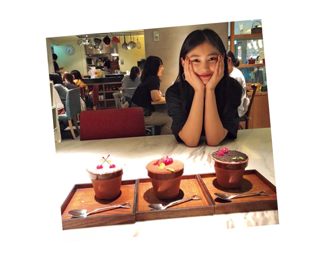 人と食べるともっと幸せ♡莉音