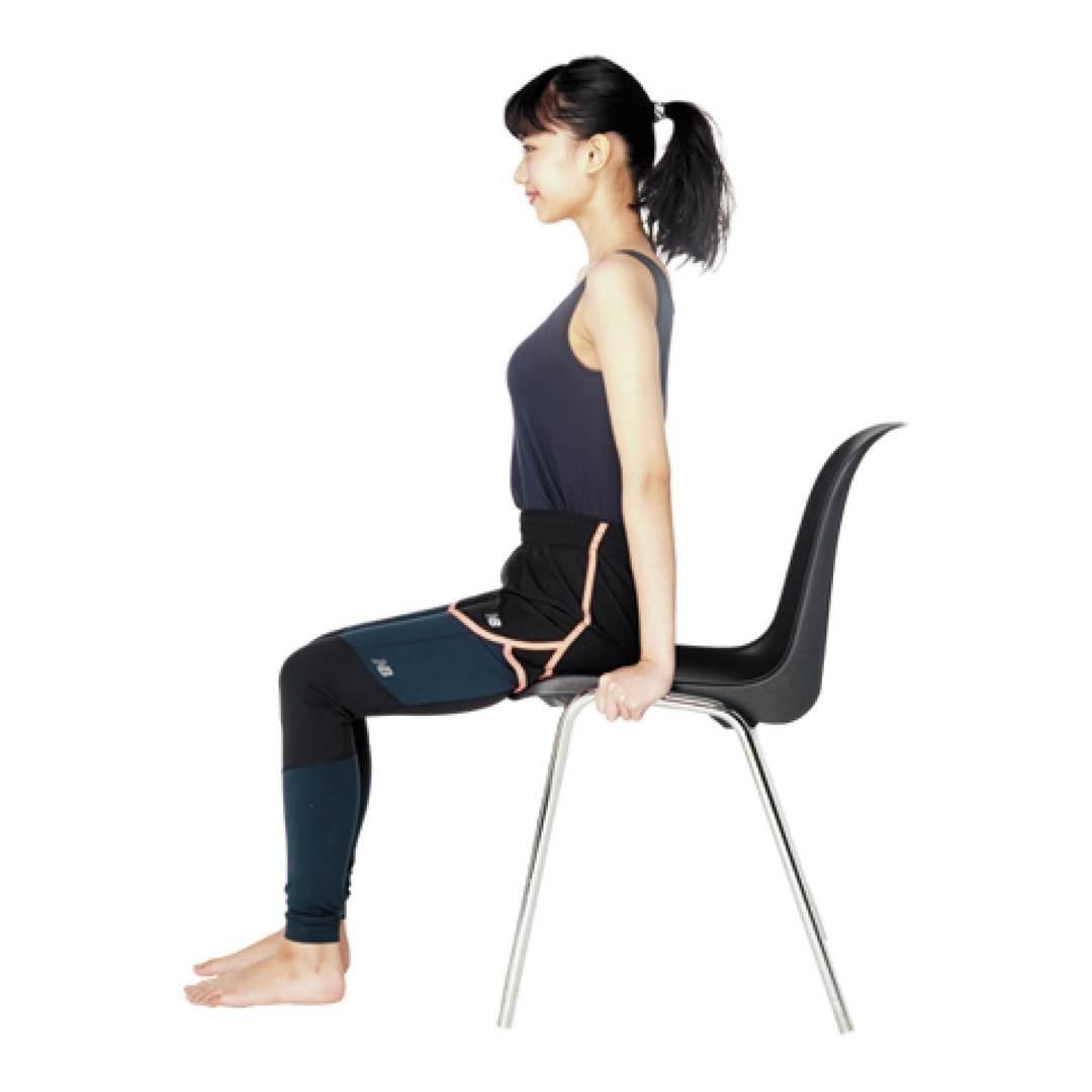 【座ったままできる、骨盤ゆがみ矯正エクササイズ】