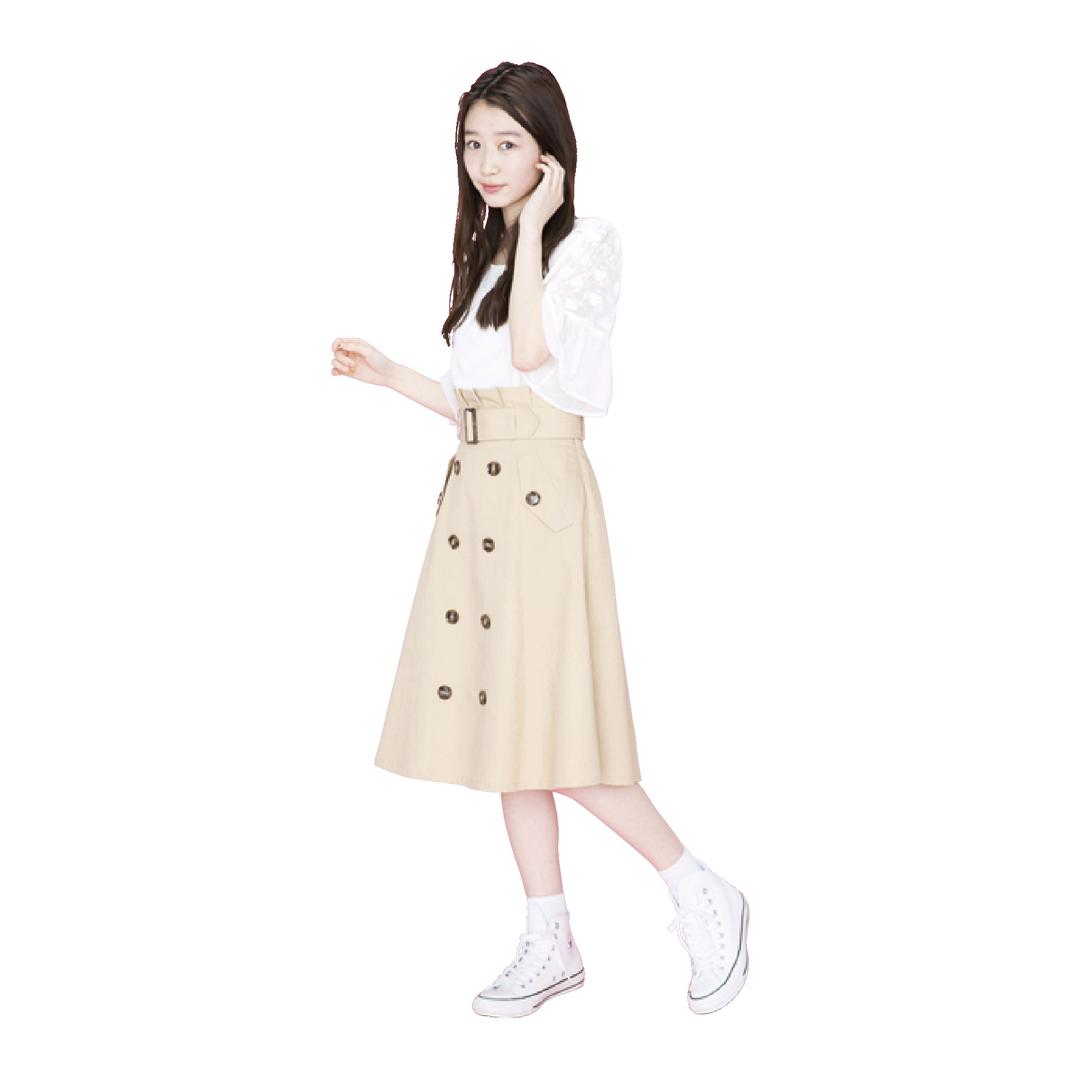 岡本夏美的モテ服