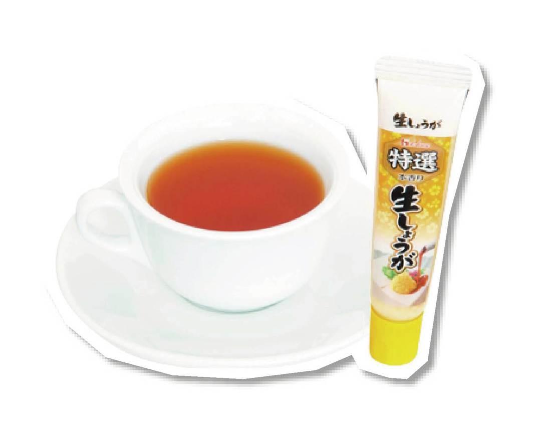 【対策③】しょうが紅茶を飲む