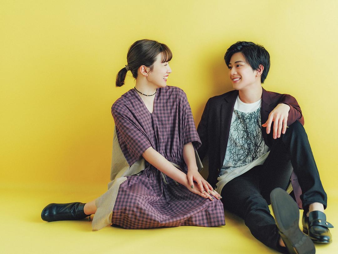 新田真剣佑&永野芽郁 ふわふわ仲良しトーク♡ - ST channel by Seventeen