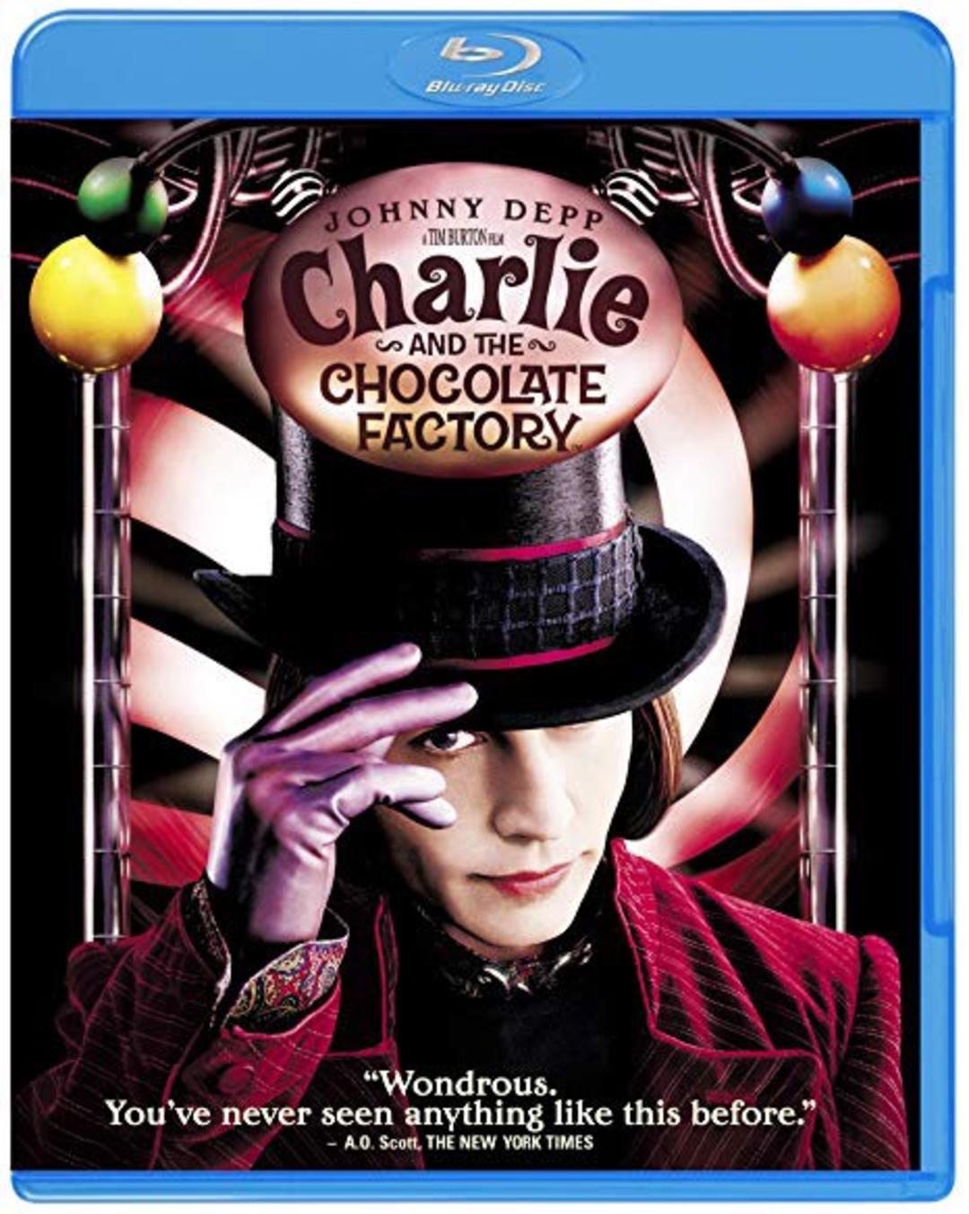 ワクワクできる映画『チャーリーとチョコレート工場』