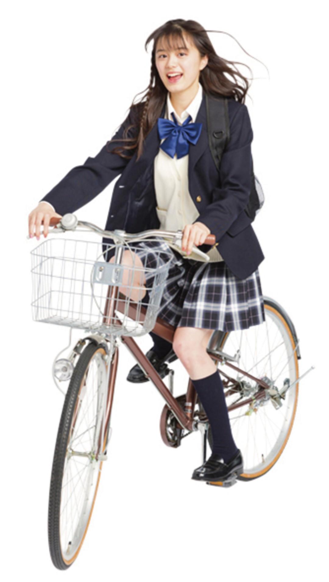 彼氏がいるコは自転車で通学しているコが多い